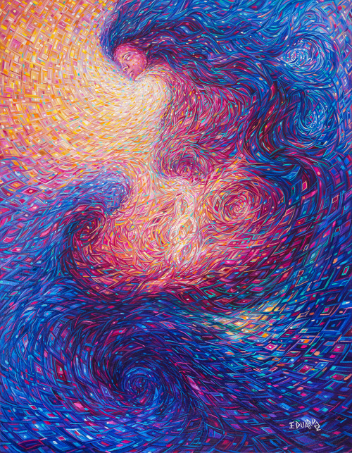 Process of Creation / Artist: Eduardo Rodriguez Calzado /Oil on Canvas / 90 x 70 cm / 2013