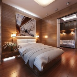 homedesigning:  Travel Themed Bedroom for Seasoned Explorers