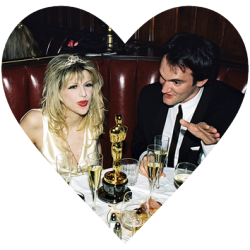 babydollapocalypse:  Courtney Love and Quentin Tarantino, this picture sums up everything my life tumblr is about