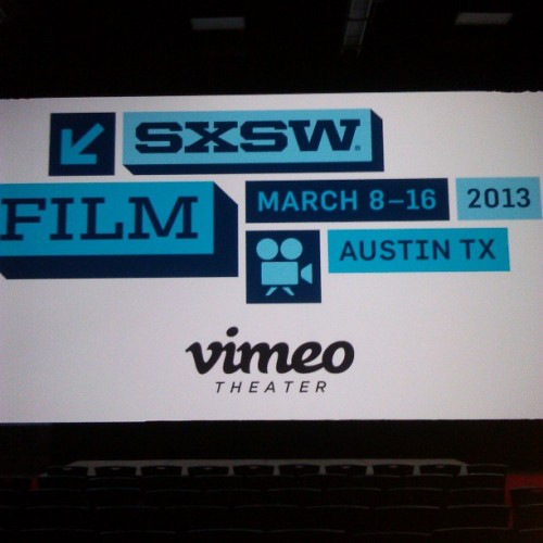 vimeo:  South By Southwest — the festival that gave us Twitter, Foursquare, and that amazingly lifelike cowboy tattoo — is about to take over Texas, the Internet, and your very brain. And Vimeo will be there >  (photo by xodbigtxod)