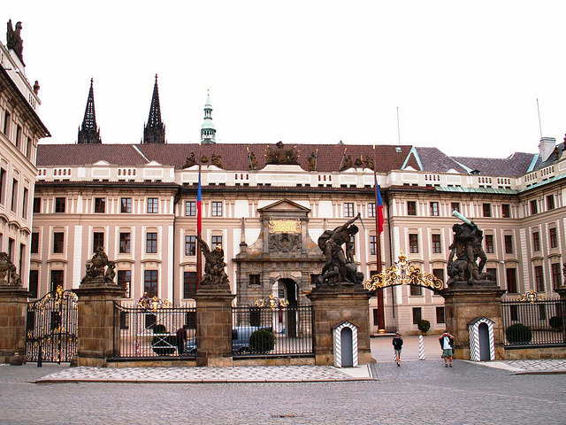 | ♕ |   Prague Castle - Palace gate  | by © Pedro NC