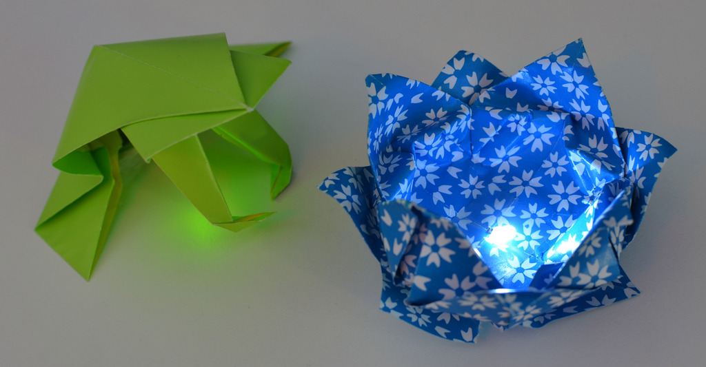 How to make led origami adafruit the kid should see this one note on lithium cell batteries if you have young children you may want to explore alternative power solutions button like batteries are extremely mightylinksfo