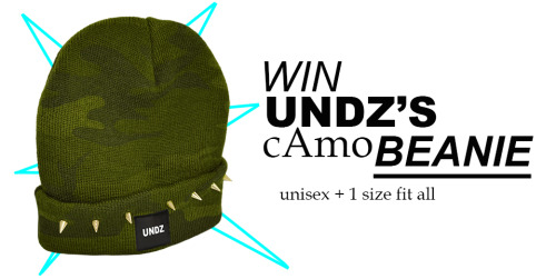 Win this beanie + studs  simply by joining through FB ;)  good luck  here