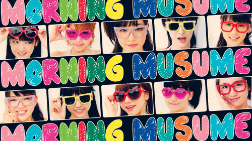 sprinklebuns:  Morning Musume wallpaper (size 1366 x 768) http://img152.imageshack.us/img152/661/49295435.png