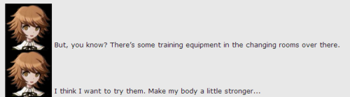 nokocchi:  sailorleo:  imagine chihiro training with aoi and sakura tho. imagine sakura bench-pressing aoi while aoi lifts up chihiro and chihiro has a little 5 lb weight in each hand  I was just going to skim by this when the urge to draw this was too good to pass up:   WOW CUTE