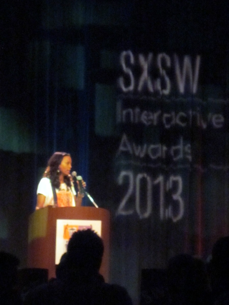 Opening band for SxSW Interactive awards and emcee Aisha Tyler