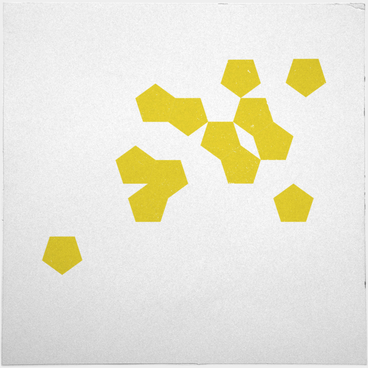geometrydaily:  #445 Sun spots – A new minimal geometric composition each day