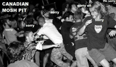 ultranus:  Canadian Mosh Pit