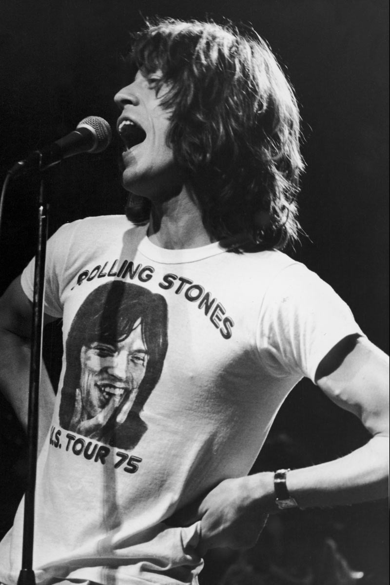 galo-71:  Mick Jagger in the U.S tour 1975