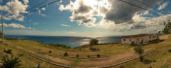 View Point Looking at the Caribbean Sea right next to El Morro. (Panorama has been stitched with Hugin.) Canon EOS 40D 1/320s ISO 125 f/14.1 Santiago, Cuba Flickr - Twitter - Facebook - Google+ - Posterous - 500px Copyright © BorisJ Photography - Boris Jusseit - all rights reserved - please do not use this image on any media without my permission.
