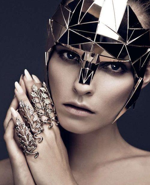silver metalic armor futuristic futuristic fashion cyberpunk silver rings fashion photography fashion design womanswear womans fashion womens fashion