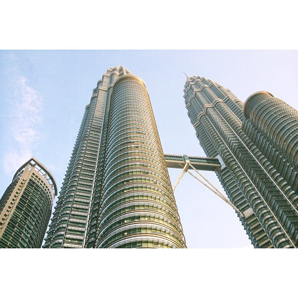 the mighty twins! (at PETRONAS Twin Towers)