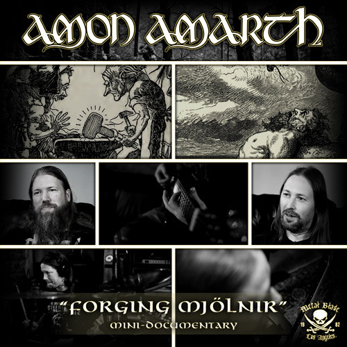 valkyrianmusic:  Amon Amarth release trailer for threee-part documentary; Forgining Mjölnir View Post