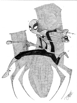 lulubonanza:  Spider-Man commission sample by ~JeremyTreece