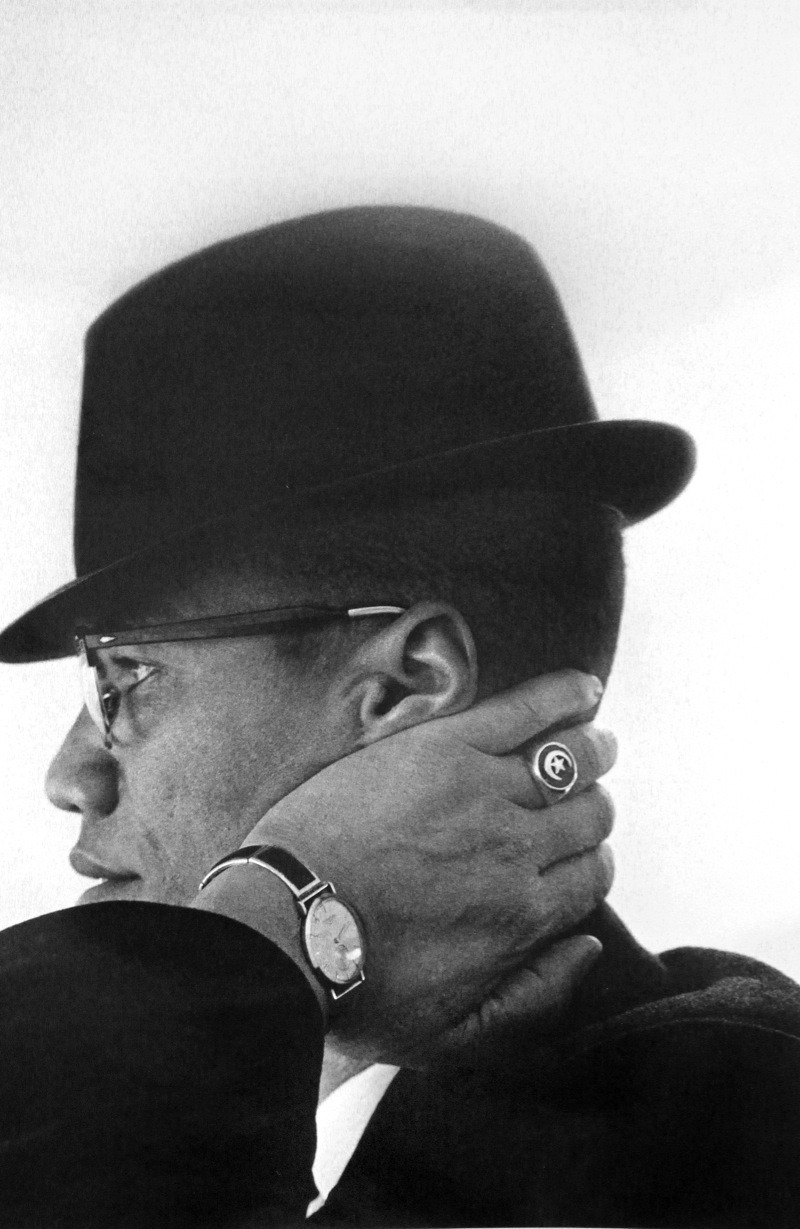 Happy Birthday Malcolm X, shot by Philly's own late great Eve Arnold.