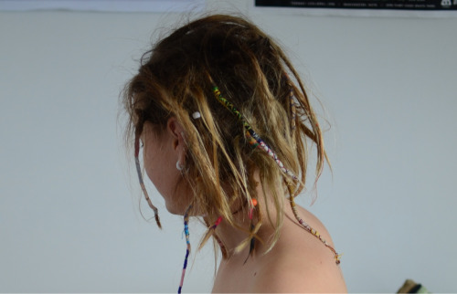 you-arent-my-friend:  My dreads are looking crazier :)