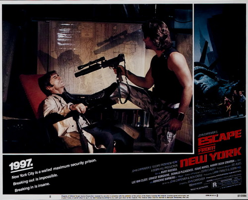 Escape From New York (1981) Goodnight World … Stay Strange!!!