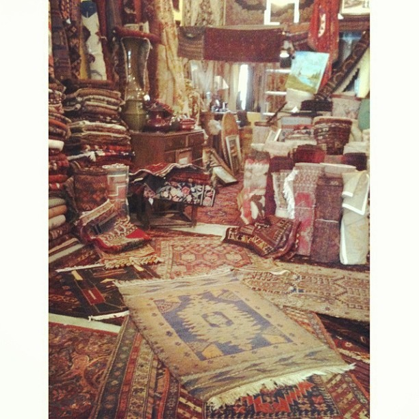 200+ year old rugs. Amazing! @localman