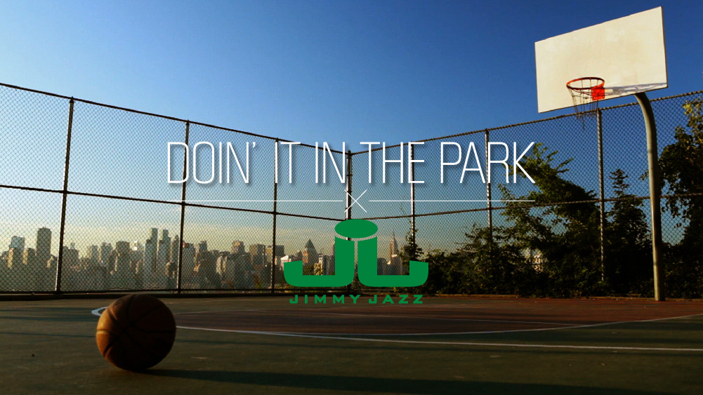 Jimmy Jazz is an official supporter of DOIN' IT IN THE PARK: PICK-UP BASKETBALL, NYC , a film by Bobbito Garcia & Kevin Couliau! Contribute to their KICKSTARTER CAMPAIGN which will help fund an independent release of the award-winning doc this Spring 2013, and receive great rewards in return  kickstarter.com/projects/doinitinthepark/doin-it-in-the-park-pick-up-basketball-nyc
