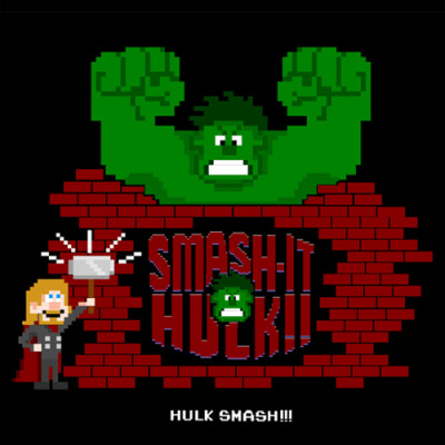 puzzling-puzzle:  Smash It Hulk