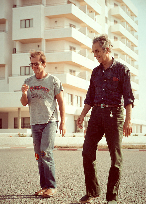 Jack Nicholson and Michelangelo Antonioni.