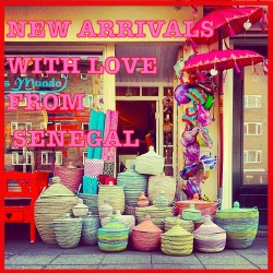 ♥ With love from Senegal  ♥ Funky fair-trade arrivals at Milagros Mundo ~ Amsterdam for an Eclectic lifestyle for the urban hippy