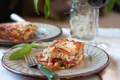 Ramp & Sausage Lasagna Recipe