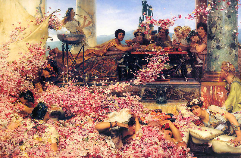 Sir Lawrence Alma-Tadema, The Roses of Heliogabalus