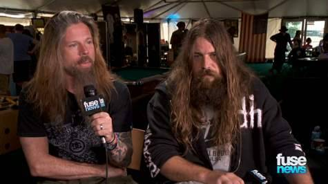 LAMB OF GOD Members Discuss Safety At Shows: 'You Need To Be Responsible For Your Own Actions'Fuse conducted an interview with LAMB OF GOD drummer Chris Adler and guitarist Mark Mortonat this…View Post