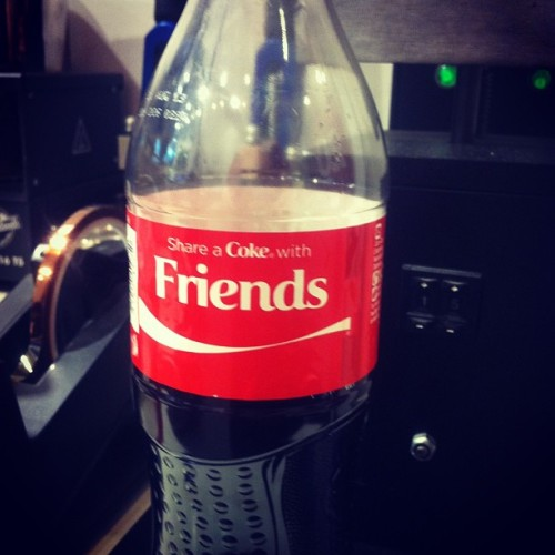 I took this bottle of Coke because of my BFF's love for Coke and my love for my BFF haha. So @farrellyne, this is for you :D