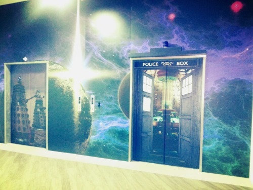 kelzyelzy:  The Doctor Who elevators in Wellington