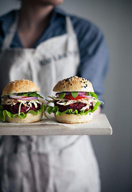 expensivelife:  Veggie burgers by Call me cupcake