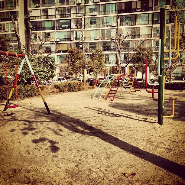 I was here. #playground #childhood #seoul