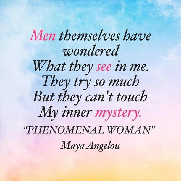 My fav poem EVER!! #mayaangelou #phenomenalwoman #fitnessinspiration #fitgirl