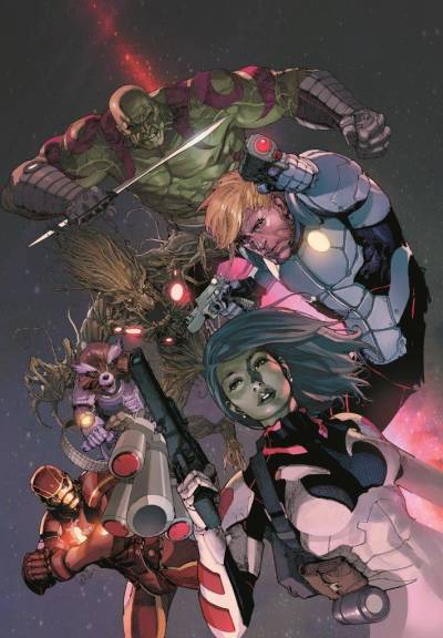 brianmichaelbendis:  Guardians of the Galaxy #3 Variant - Leinil Yu