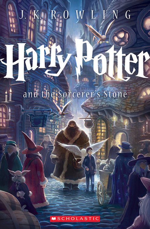 entertainmentweekly:  Scholastic's gift to all of us, on the occasion of Harry Potter and the Sorcerer's Stone's upcoming 15th birthday (geez, we're old): All-new cover art by Kazu Kibuishi.