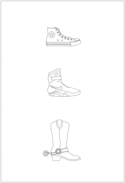 eatsleepdraw:  'Back to the Future footwear' Daniel Devoy. Check out my other work at crazythewizard.tumblr.com :)