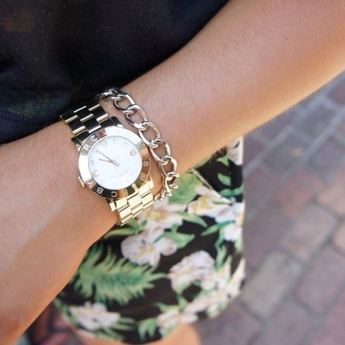whattwowear:  Marc Jacobs watches are so perfect!