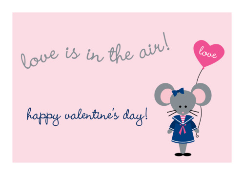 Happy Valentine's Day! Love, Mimi