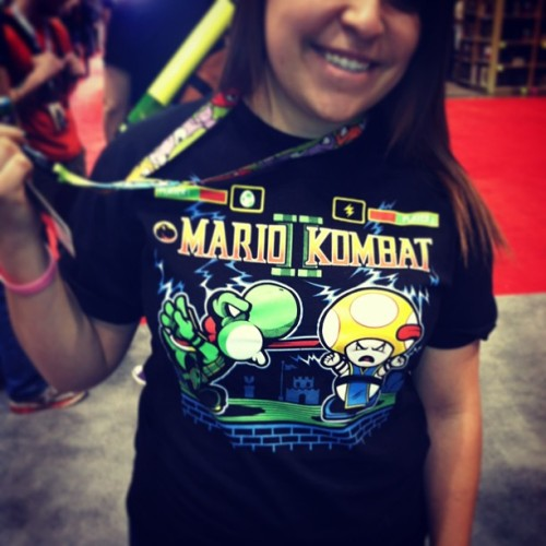 Found Mario Kombat at C2E2! #c2e2 #teefury #photooftheday #harebrained