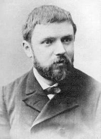 Today is the birthday of Henri Poincaré (29 April 1854 – 17 July 1912), French philosopher of science, engineer, mathematician, and theoretical physicist.  Among his many contributions, Poincaré was the first to propose that nothing could travel faster than the speed of light in a vacuum.  He also wrote a short paper on relativity that predated Einstein's by several months-although Poincaré is rarely credited popularly with contributions to relativity, Einstein himself acknowledged his debt.  Poincaré's assertion that nothing is faster than light in a vacuum came at time when science was trying to establish what a vacuum meant at all-whether or not there was a measurable ether. The word vacuum came into English in the 1540s from the neuter noun use of the Latin vacuus meaning empty.   Another shout out needed here:  Poincaré taught at L'Université de Caen, in Lower Normandy, an institution I am proud to call one of my alma maters!  Allez Phénix!