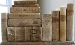 pixiedustparcels:  Antique books from the 1500s to the 1800s. In Italian, French, latin. Vellum
