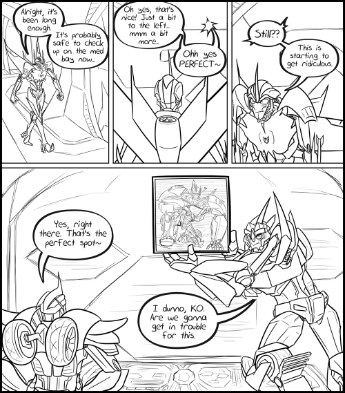 lizwuzthere:  KOBD comic 2 Yeah, I need to make more of these. hehehh~ comic 1