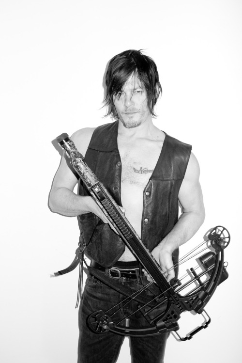 terrysdiary:  Norman Reedus at my studio #12