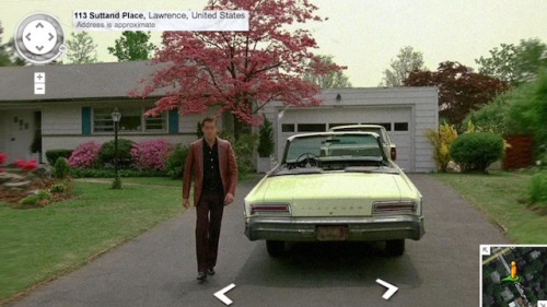 nevver:  Google Street View, Goodfellas  Perhaps the greatest thing ever.