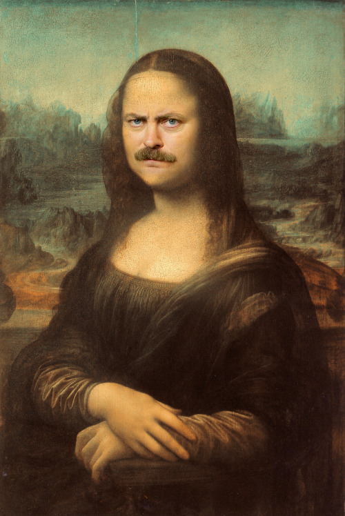 lolsofunny:  lolzpicx:  The Mona Swanson  (lol here!)