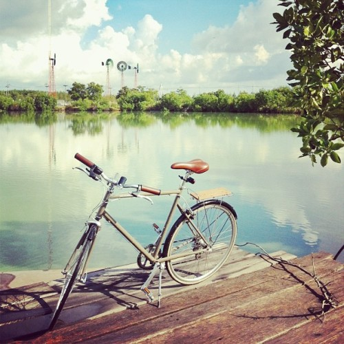 instagram:   Instagrammers Participate in #biketoworkday Are you planning to bike to work tomorrow? If so, be sure to share your Instagram photos with the hashtags #biketoworkday and #fromwhereibike. May is National Bike Month, and tomorrow, May 17, is the League of American Bicyclists' official Bike to Work Day. Many commuters around the United States will forsake their cars tomorrow in favor of cycling to promote environmentally friendly transportation and healthy living. Can't get enough cycling in your life? Be sure to check out these great Instagrammers: The Bicycle Academy, English bicycle workshop: @thebicycleacademy Bradley Wiggins, Tour de France and Olympic champion: @bradwiggins Rapha, cycling accessories company: @rapharacing David Aaron Roberts, LA bike-portraitist: @slvrlyt Steiner - Argon 18, Swiss cycling team: @steiner_argon18
