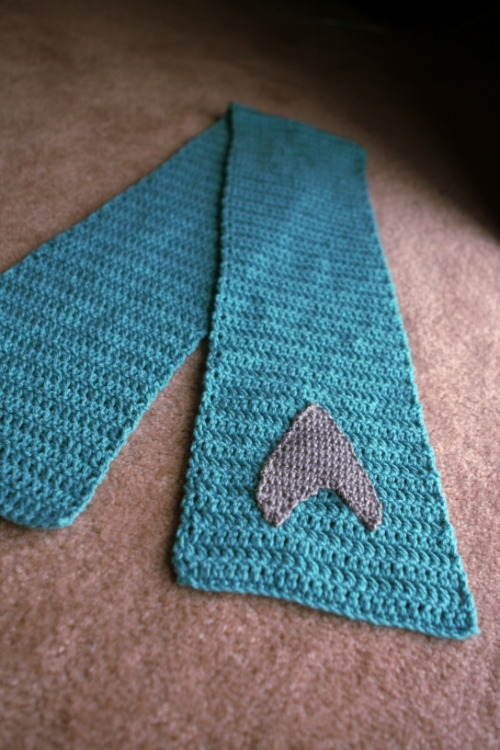 Star Trek Science Officer Scarf