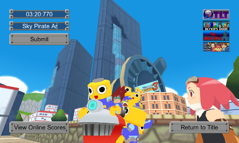 Grab Servbots in fanmade Mega Man Legends 3 game The Mega Man Legends 3 community continues to be one of the scariest/most impressive groups to gather around a nonexistent game. Case in point: fans Blyka and fAB made a game based on a mission in the Mega Man Legends 3 Prototype, using assets from that (unreleased) demo. According to the official description, Servbot Roundup lets you: Ride around as Barrett, as seen in video footage of the Mega Man Legends 3 Prototype Version!  Feel the MML3 thrill as you explore an expansive, semi-accurate recreation of Teomo City  Collect Servbots in three increasingly difficult levels with differing positions  Find the fastest route to victory and submit your best times to the online high score table I'm totally about to try this, and you can too, because it's a free browser game! Whaaaat? Compare that to the real MML3, which is nothing. BUY Mega Man games and moreVIA Protodude