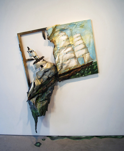 Valerie Hegarty Sinking Ship (2012)